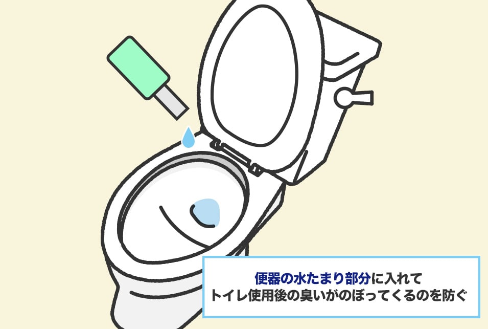 『液体タイプ』のトイレ消臭剤