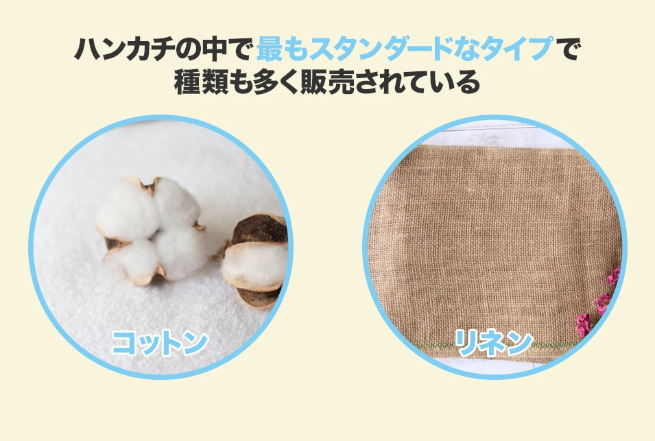綿・麻などの植物繊維